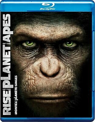 Rise of the Planet of the Apes Bluray, DVD Digital Copy Bilingual