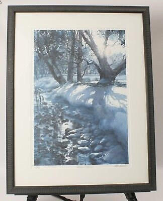 """/""""Summer Time/"""" Tom Lynch Limited Edition Watercolor Print"""