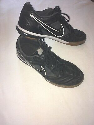 cdbf9a4f9 NIKE Gato Men s Leather Indoor Soccer Shoes Size 11.5 415123-001