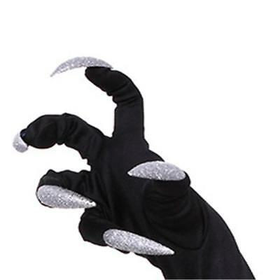 Glove Long Nails Claw Punk Thin Halloween Party Cosplay Props Gloves Jian