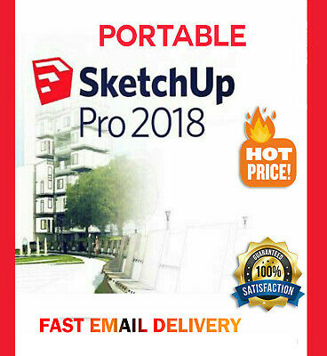 SketchUp Pro 2018 Activator - Lifetime Software Activation  INSTANT Delivery