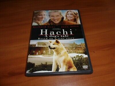 Hachi: A Dogs Tale (DVD, Widescreen 2010) Used  Richard Gere