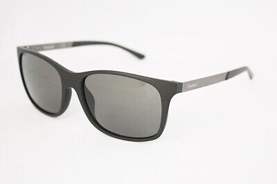 b5008201234 TIMBERLAND TB9095 Gray Polarized sunglasses 02D Matte Black 56mm MEN  anti-glared