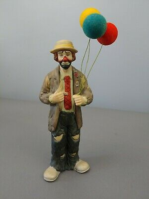 EMMETT KELLY JR  Clown Doctor with Child on Knee by Flambro
