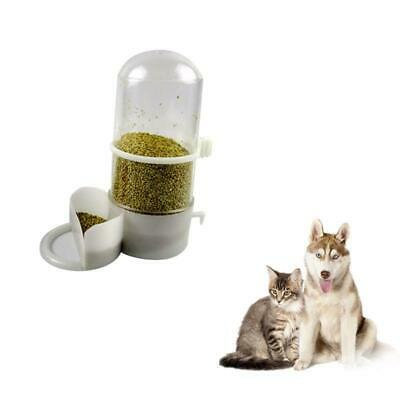 Pet Cat Dog Automatic Food Water Drinking Bowl Bottle Dispenser Feeder Fountain