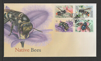Australia 2019 : Native Bees, First Day Cover, Mint Condition.