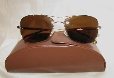 00bc665eb9a10 Oliver Peoples OP Sanford Sunglasses Polarized VFX Aviators! MINT!