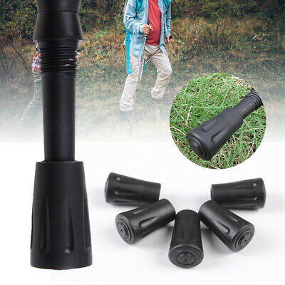 10xs Spare Replacement Walking Stick Trekking Hiking Pole Rubber Ends P3C9