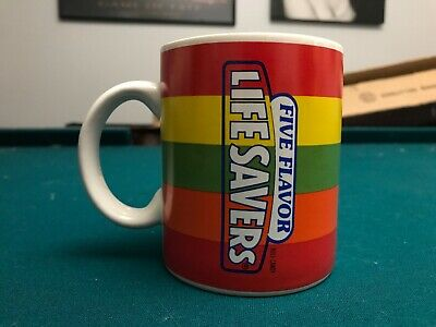 Life Savers Five Flavor Coffee Mug-Nabisco Brand Vintage