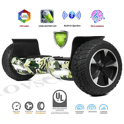 "8.5"" Off Road Hoverboard Self Balance Scooter All Terrian Bluetooth without bag"