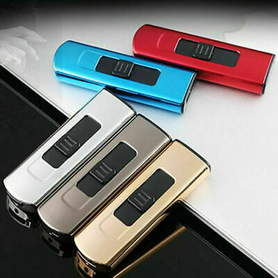 Dual Arc Electric USB Lighter Rechargeable Flameless Windproof Tesla Plasma Gift
