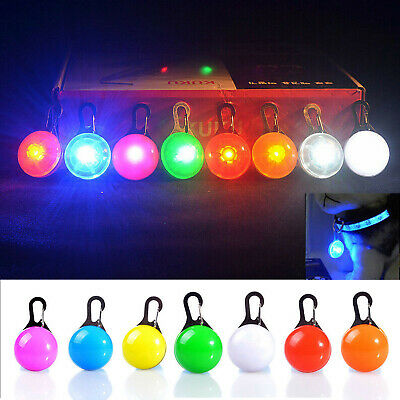 Pet Light-emitting Dog Board Anti-lost Bell Flash Cat Led Safety Pendant RD842