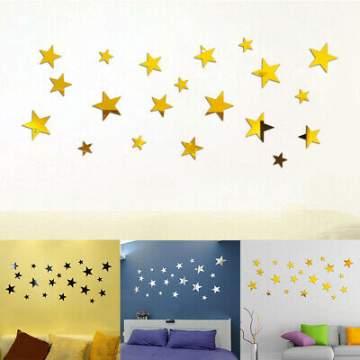 Self-adhesive Wall stickers Backdrop Room Decorations Sets Acrylic Removable