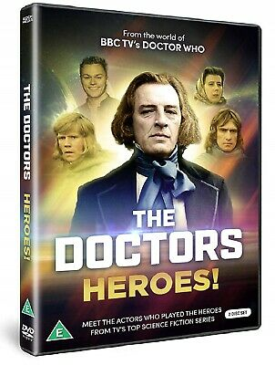 THE DOCTORS: HEROES! - TV Doctor Who - KATY MANNING, DAVID BRIERLEY - NEW 2x DVD