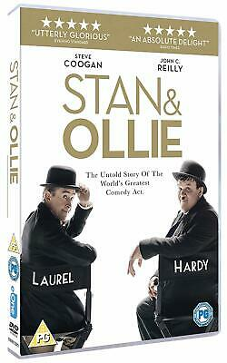 STAN & OLLIE (2018): Coogan and Reilly, Comedy, Drama - NEW Eu Rg2 DVD not US