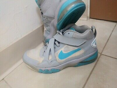 ccc592fccfc Nike Air Force Max CB2 Hyperfuse Gamma Blue and Grey Charles Barkley Mens Sz.  11