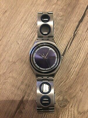 Swatch Irony Damenuhr Blau