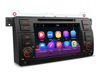 """XTRONS Android 8.1 Octa Core 7"""" Multimedia Player for BMW 3 Series E46 PR7846B"""