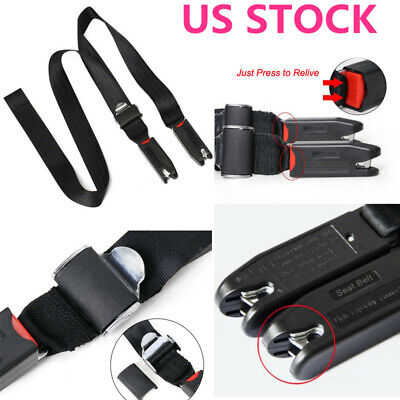 Child Kids Safe Car Seat Strap Kit Install Fixed Belt Connector Isofix Latch US