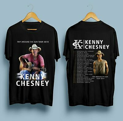 New Kenny Chesney Trip Around The Sun Tour 2018 T-Shirt S-5XL