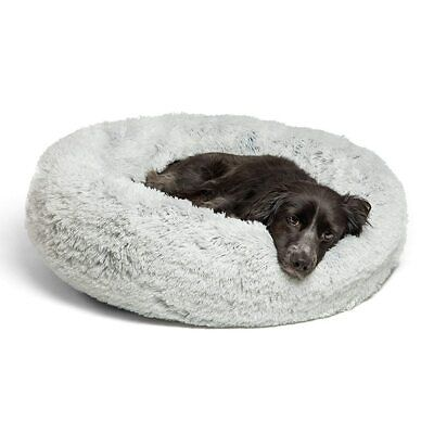 CALMING BED Absolut Soothing Bed Warm Fleece Dog Bed Puppy Mat Pet Beds Y5A7