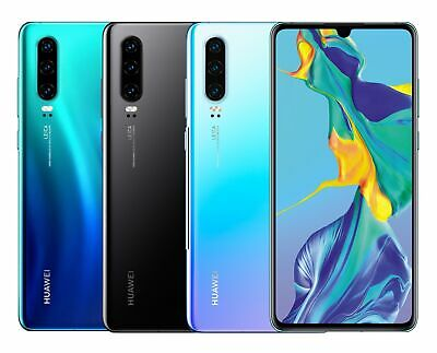 """Huawei P30 DualSim 128GB LTE Android Smartphone 6,1"""" OLED Display 40 Megapixel"""