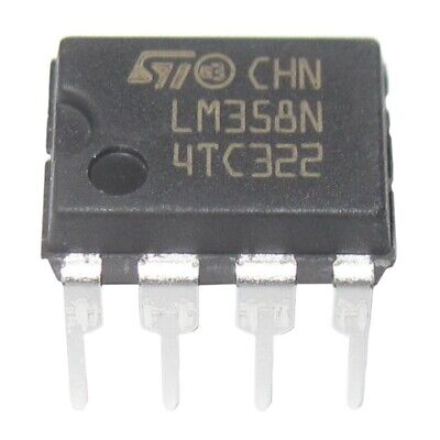 20 Pieces LM358 LM358N LM358P Dual Operational Amplifiers Op-Amp DIP8 F8N4