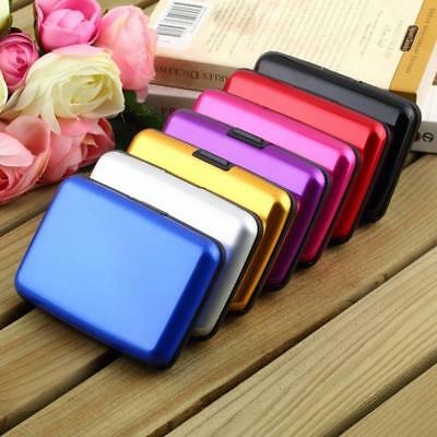Alloy Case Box Business ID Name Credit Card Holder Cover*Namecard Cardcase P0CA