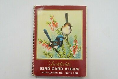 Tuckfields Birds Series 3 set of 96 cards & album 1960's