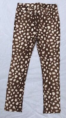 H&M - Deer Print Treggings - Size 6 - NEW