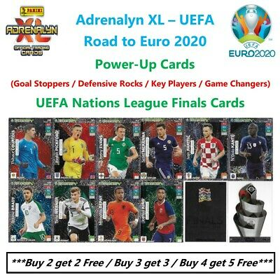Adrenalyn XL - Road to UEFA Euro 2020: Power-Up and UEFA Nations League Cards