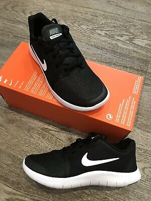 48b85adf51 Womens NIKE Flex Contact 2 Trainers Gym Running Trainers UK Size 3.5 Black