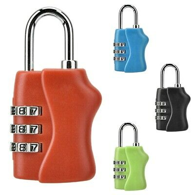3 Digit Mini code Metal Combination Travel Luggage Lock Padlock password