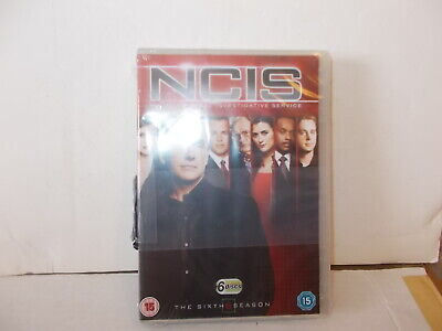Ncis - Season 6, Mark Harmon, 6 Disc Boxset New / Shrinkwrapped. U.s. Tv.