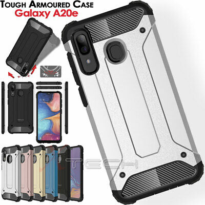 for Samsung Galaxy A20e TOUGH ARMOURED Shockproof Rugged Protective Case Cover