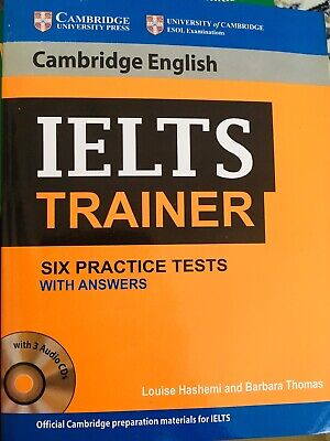 Cambridge English IELTS Trainer Six Practice Tests With Answers And Cds.