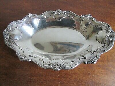 Vintage Gorham YC1311 Scalloped Edge  Silver Plated Serving  Dish