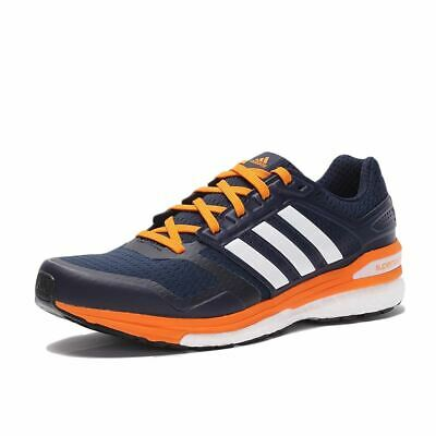 adidas Supernova Sequence Boost 8 Running Shoes Mens Navy/Wht Trainers Sneakers