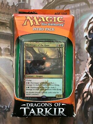 Magic the Gathering MTG Dragons of Tarkir Intro Pack FURIOUS FORCES