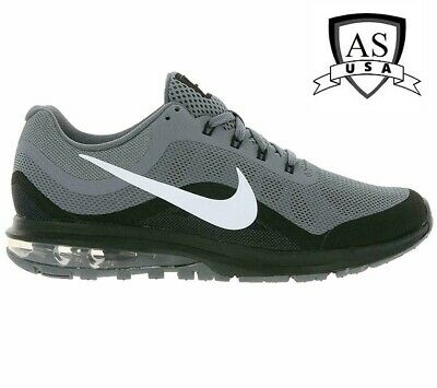 huge discount 0e083 9d829 Nike Air Max Dynasty 2 Men s Running Shoes Grey White Black 852430 006 Size  12.5