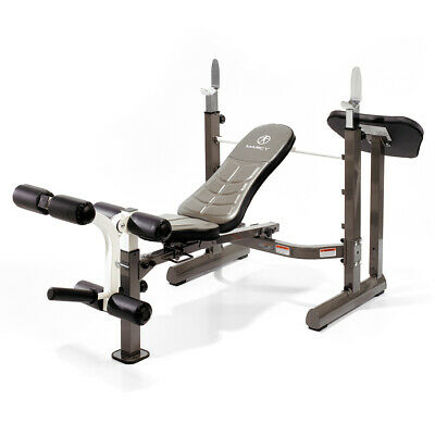 Marcy MWB-50100 Folding Mid-Width Weight Bench With Rack & EZ Pad