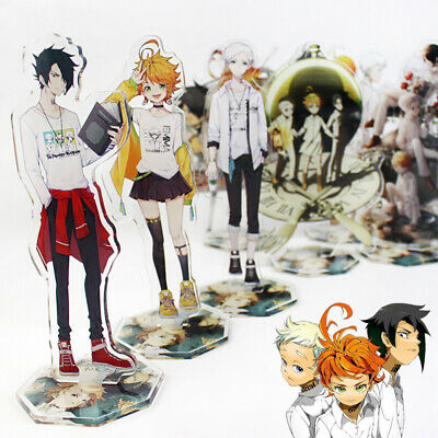 THE PROMISED NEVERLAND Emma Norman Ray Keychain Figure