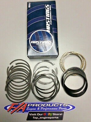 "065/"" file fit Chevy 7.4//454 Hastings RACE Ductile Moly Rings 1//16,1//16,3//16"