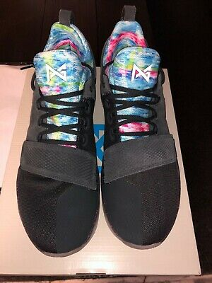 730a6e6b206b NEW IN BOX! Nike PG 1 Paul George EYBL Size 9 Black DS Limited ...
