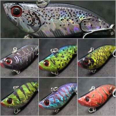 Lipless Crankbait Fishing Lure Hard Lures wLure 2 1//3inch 1//2oz Sinking L697