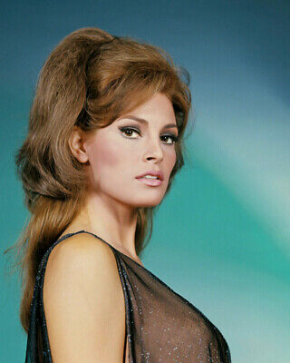 American Actress RAQUEL WELCH Glossy 8x10 Photo Model Poster Print