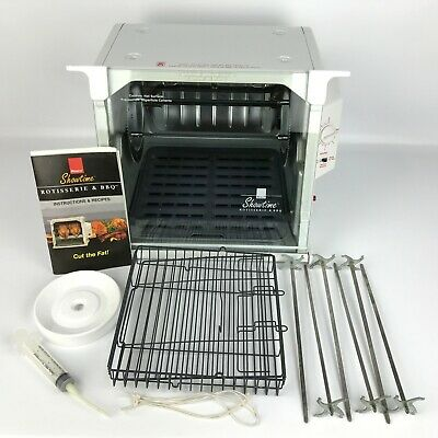 Ronco Showtime Model 4000 Full Size Rotisserie & BBQ Oven (White)