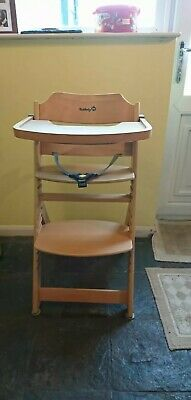 Safety 1st First Timba Wooden Highchair Natural Unused 4500
