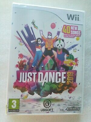 Just Dance 2019 - Original Nintendo Wii - Brand New & Factory Sealed - UK PAL