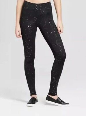 eb6d0a762d0803 NEW ⭐️Joy Lab Womens 4X Plus Constellation Black Leggings Workout Stretch  Pants